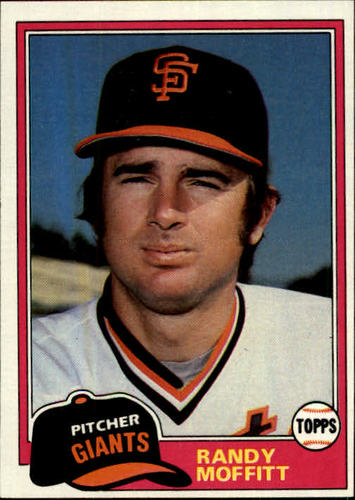 Photo of 1981 Topps #622 Randy Moffitt