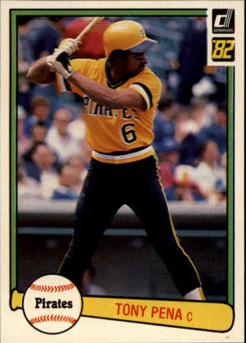 Photo of 1982 Donruss #124 Tony Pena