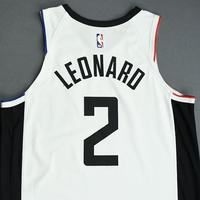 Kawhi Leonard - Los Angeles Clippers - Christmas Day' 19 - Game-Worn City Edition Jersey - Worn 2 Games - Double-Double and Scored Game-High 35 Points on 12/25/19