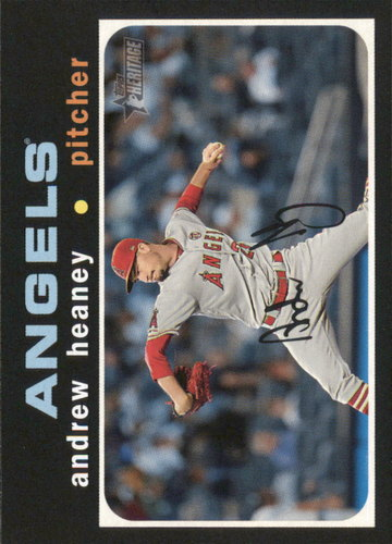 Photo of 2020 Topps Heritage #318 Andrew Heaney