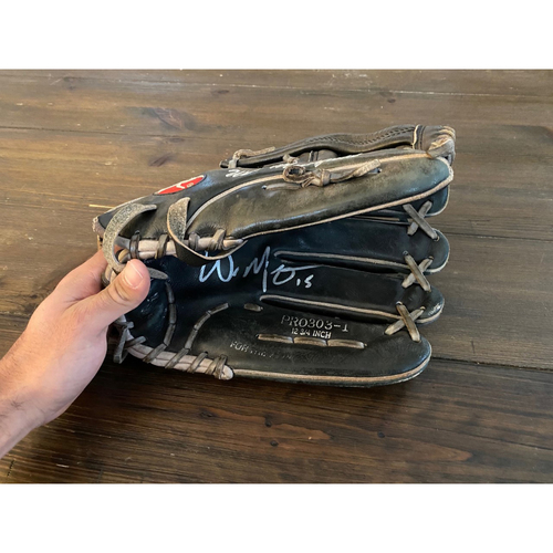 Whit Merrifield's Royals Respond Auction: Autographed Outfield Glove (NOT MLB AUTHENTICATED)