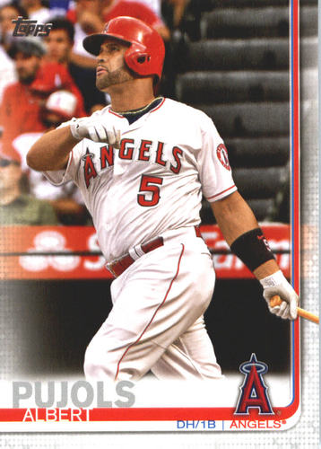 Photo of 2019 Topps #437 Albert Pujols