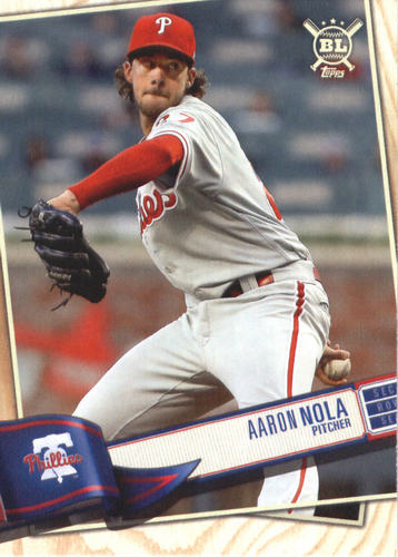 Photo of 2019 Topps Big League #239 Aaron Nola