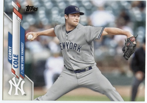 Photo of 2020 Topps #351 Gerrit Cole