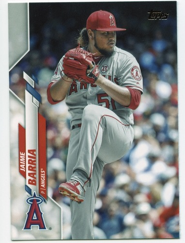 Photo of 2020 Topps #428 Jaime Barria