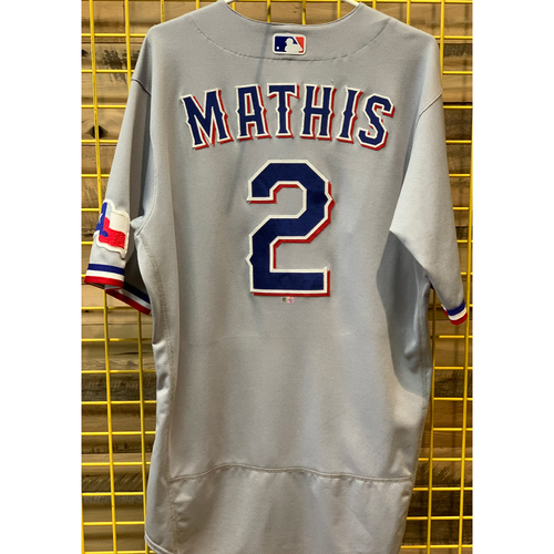 Photo of Jeff Mathis Team-Issued Grey Jersey
