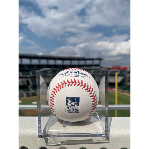 Photo of Lou Gehrig Day Branded Baseball