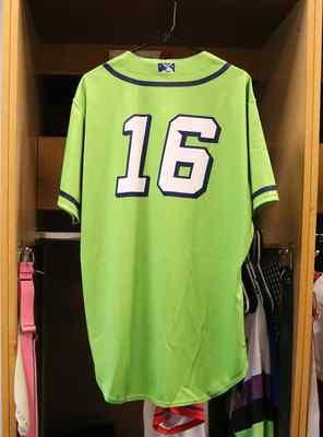 Stockton Ports Fransisco Santana Asparagus jersey, #16, Size 46