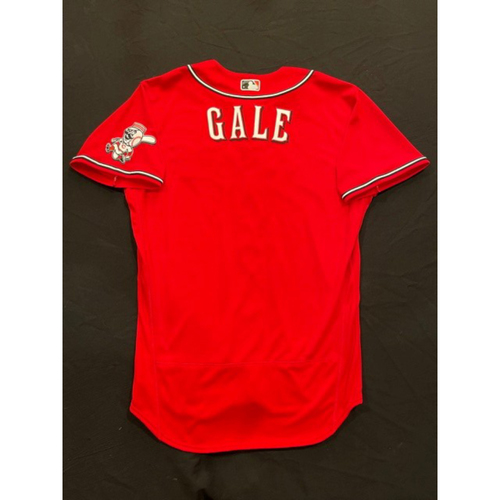 Photo of Rocky Gale -- 2021 Los Rojos Jersey -- Team Issued -- Size: 46 (No Number on Back of Jersey)