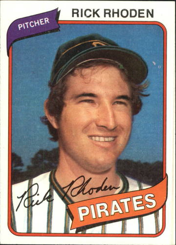 Photo of 1980 Topps #92 Rick Rhoden