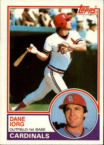 Photo of 1983 Topps #788 Dane Iorg