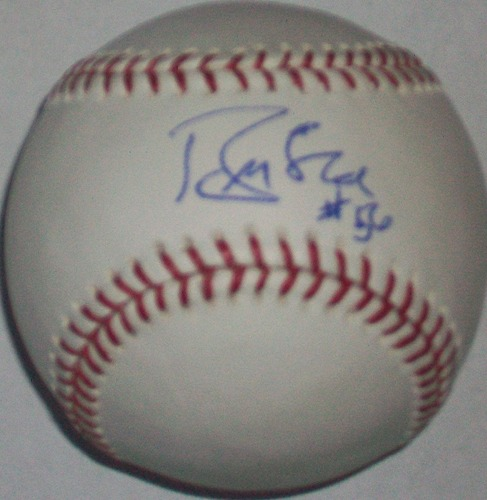 Photo of Brian McRae Autographed Baseball