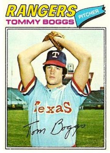 Photo of 1977 Topps #328 Tommy Boggs RC