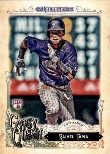 Photo of 2017 Topps Gypsy Queen #85 Raimel Tapia Rookie Card