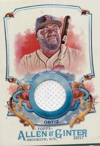 Photo of 2017 Topps Allen and Ginter Relics David Ortiz