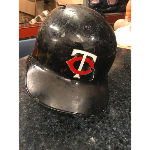 2017 Game-Used Helmet - Jason Castro