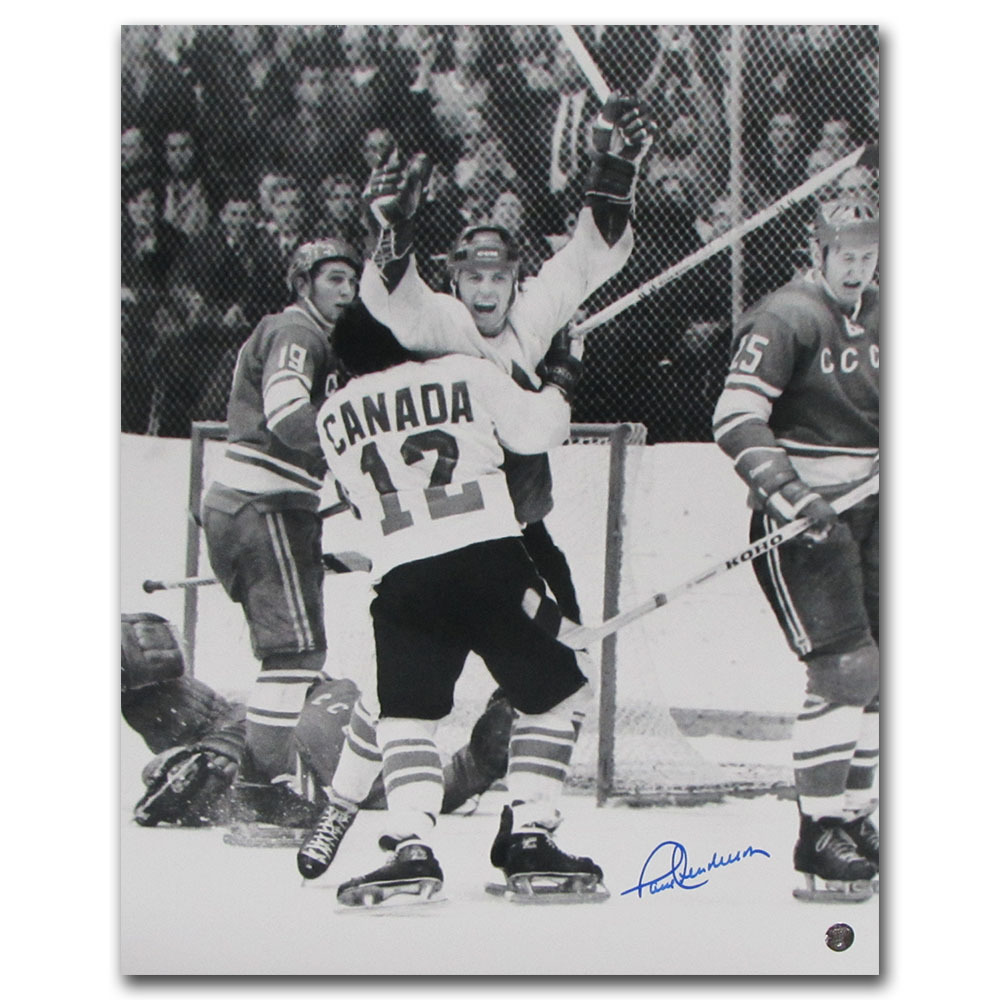 Paul Henderson Autographed Team Canada 16X20 Photo
