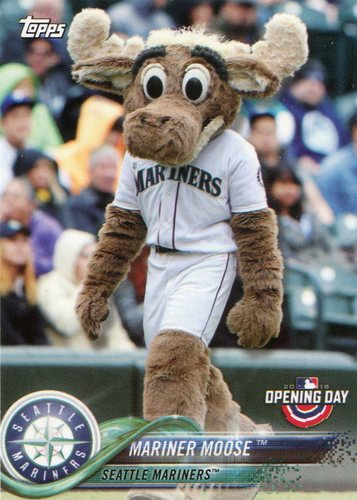 Photo of 2018 Topps Opening Day Mascots #M21 Mariner Moose