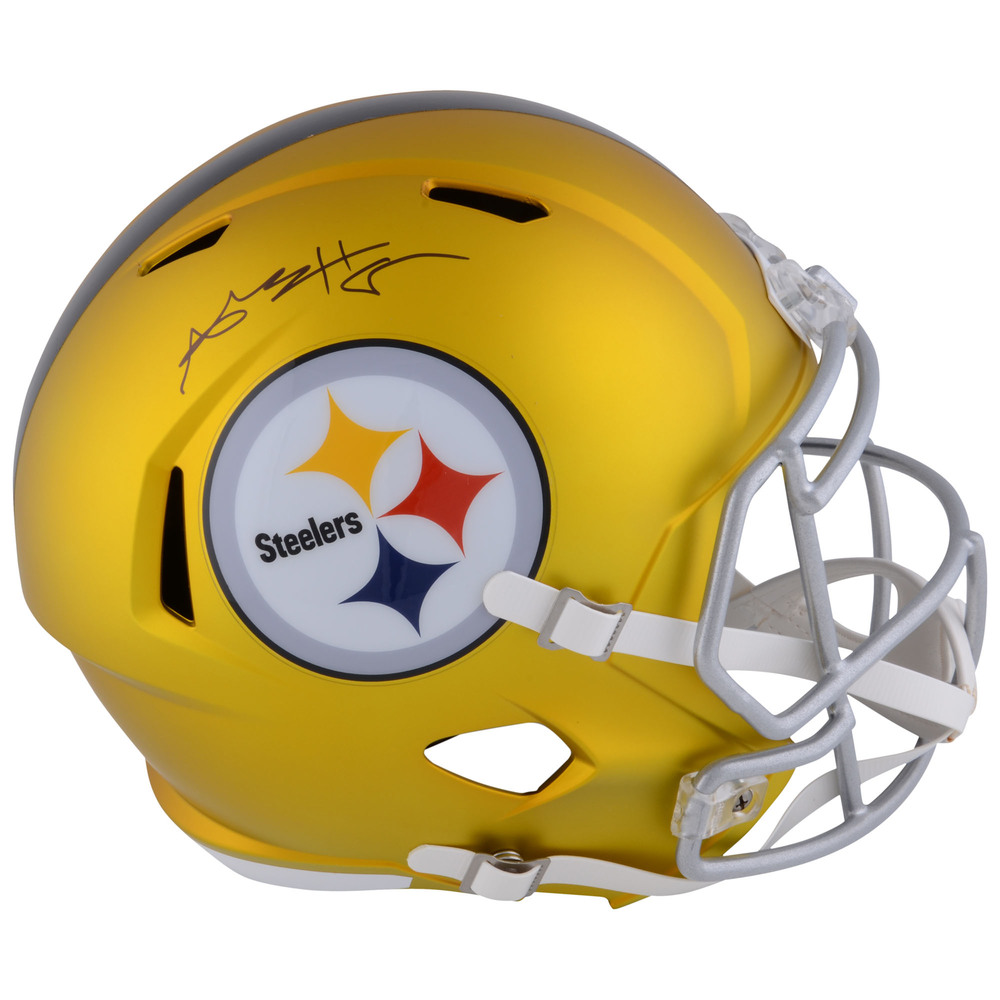 Antonio Brown Pittsburgh Steelers Autographed Riddell BLAZE Replica Helmet