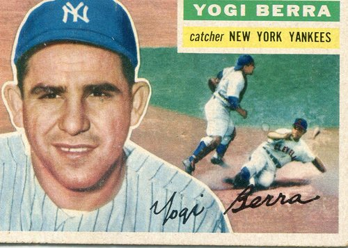 Photo of 1956 Topps #110 Yogi Berra Hall of Fame Class of 1972