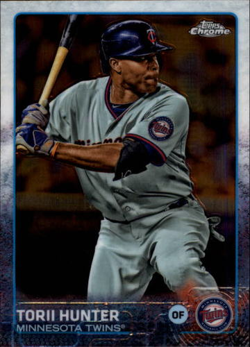 Photo of 2015 Topps Chrome #109 Torii Hunter