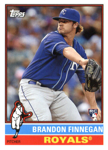 Photo of 2015 Topps Archives #106 Brandon Finnegan RC