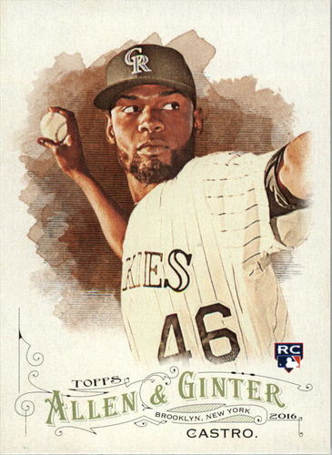 Photo of 2016 Topps Allen and Ginter #44 Miguel Castro RC