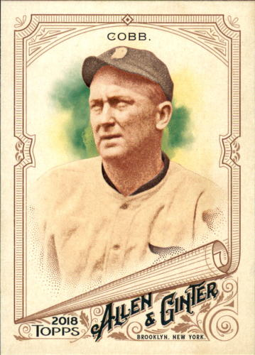 Photo of 2018 Topps Allen and Ginter #290 Ty Cobb