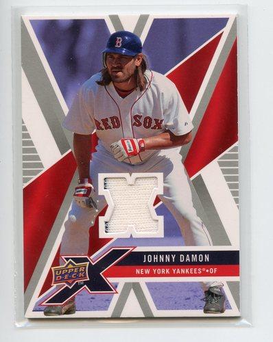 Photo of 2008 Upper Deck X Memorabilia #JD Johnny Damon