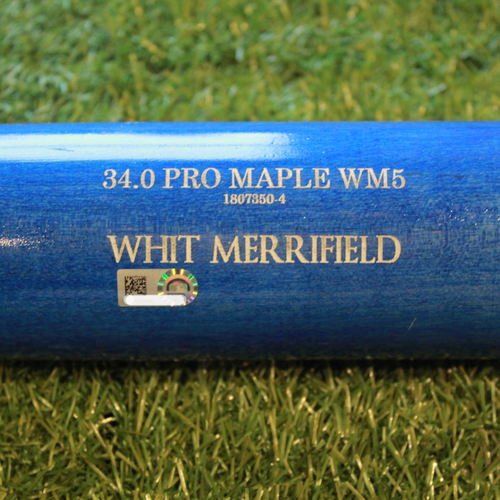Photo of Team-Issued Bat: Whit Merrifield