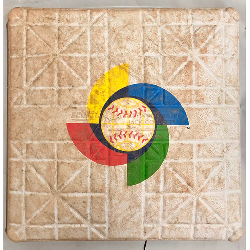 Photo of 2013 World Baseball Classic Game Used Base- 1st Base (Kingdom of the Netherlands vs Cuba)