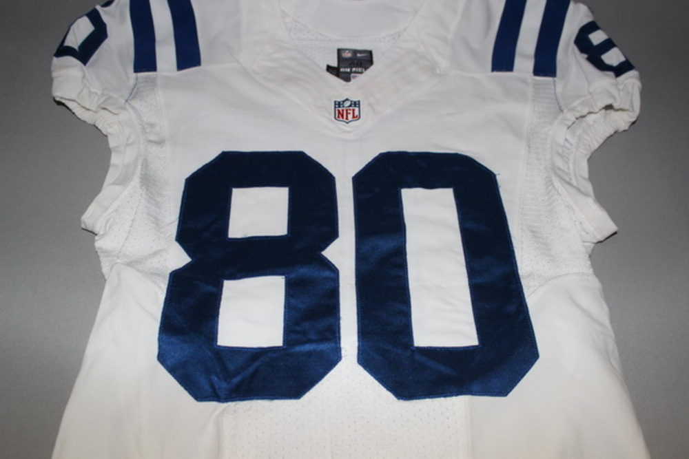 best service ba904 4c459 NFL Auction | NFL INTERNATIONAL SERIES - CHESTER ROGERS GAME ...