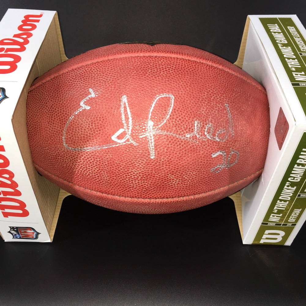 PCC - Ravens Ed Reed Signed Authentic Football