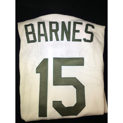 Photo of Austin Barnes Authentic Game-Used 2018 Memorial Day Los Angeles Dodgers Jersey