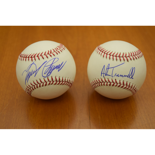 Photo of Miguel Cabrera and Alan Trammell Detroit Tigers Autographed Baseball Collection (MLB Authenticated)