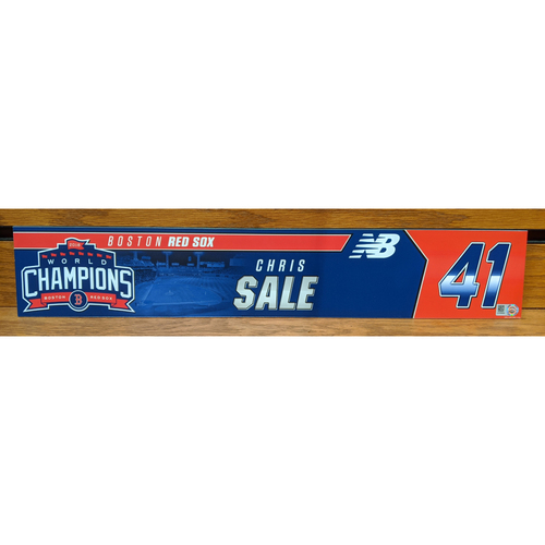 Photo of Chris Sale Team Issued Locker Tag