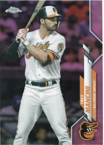 Photo of 2020 Topps Chrome Pink Refractors #188 Trey Mancini