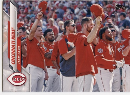 Photo of 2020 Topps #431 Cincinnati Reds TC