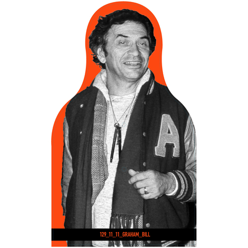 Photo of Giants Community Fund: Giants Bill Graham Cutout