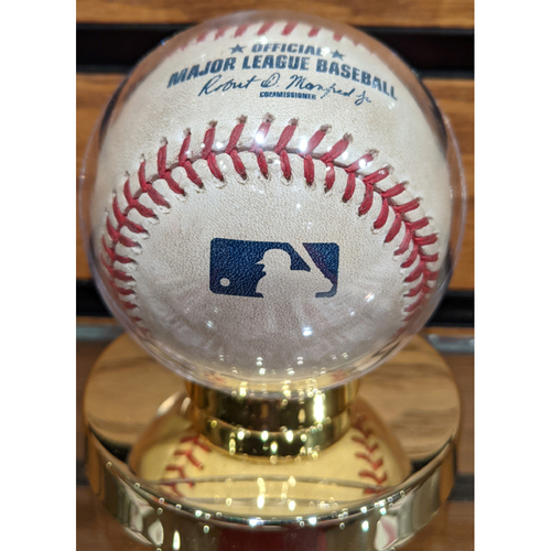 Photo of Red Sox vs. Twins July 22, 2016 Game Used Baseball