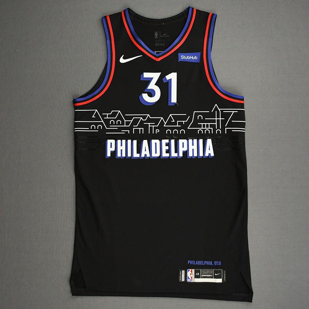 Seth Curry - Philadelphia 76ers - Game-Worn City Edition Jersey ...