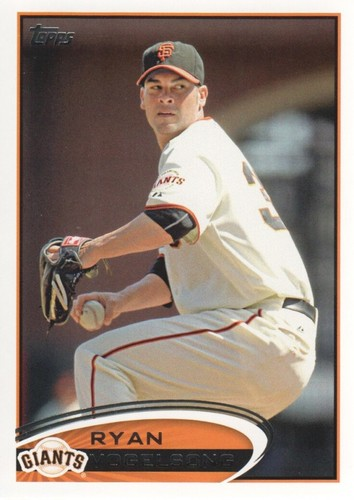 Photo of 2012 Topps #414 Ryan Vogelsong