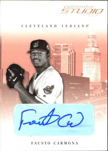 Photo of 2005 Studio Autographs #88 Fausto Carmona