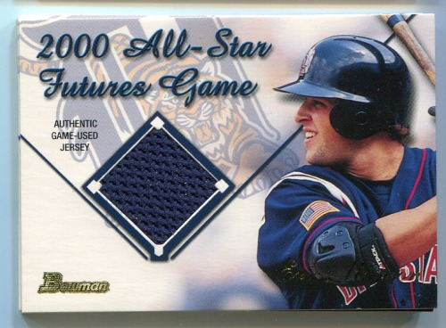 Photo of 2001 Bowman Futures Game Relics #FGREM Eric Munson A