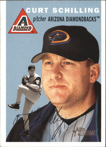 Photo of 2003 Topps Heritage #69 Curt Schilling