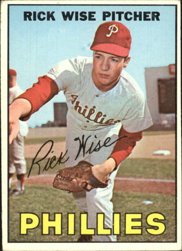 Photo of 1967 Topps #37 Rick Wise