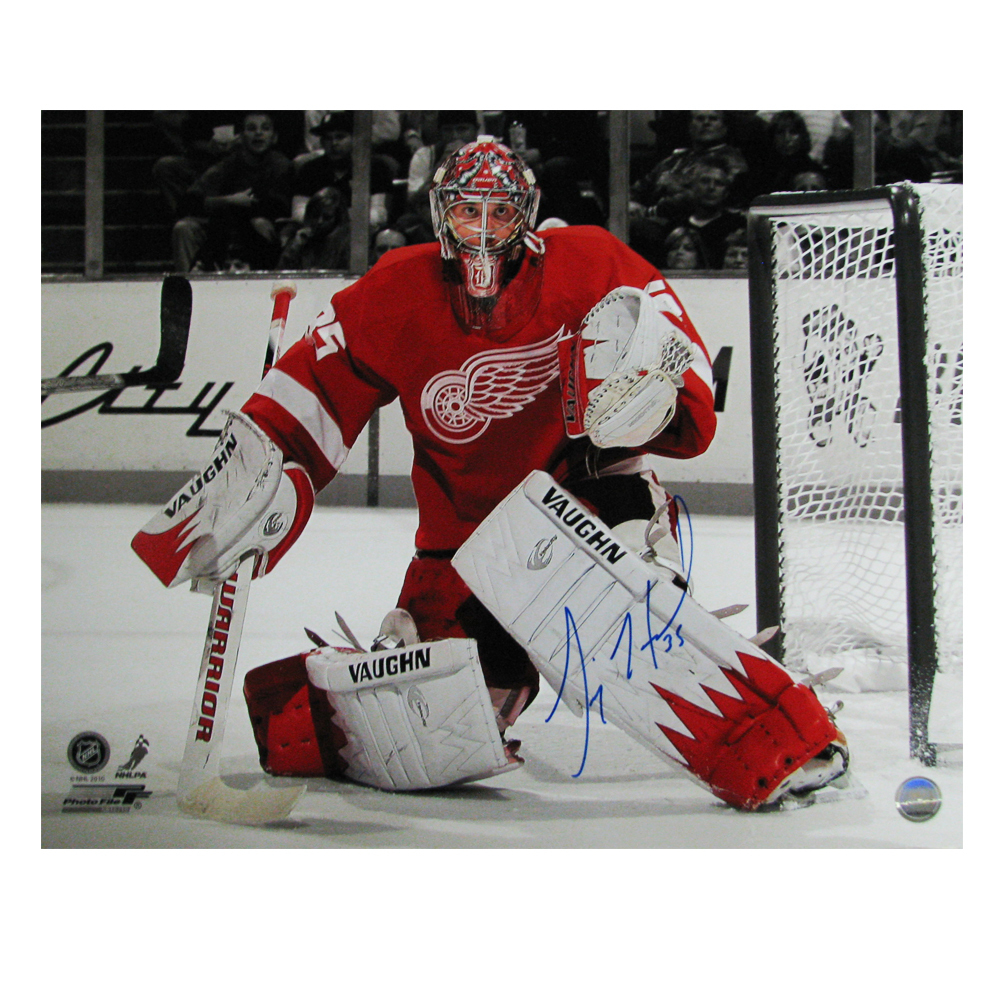 JIMMY HOWARD Signed Detroit Red Wings 16x20 Photo - 79031