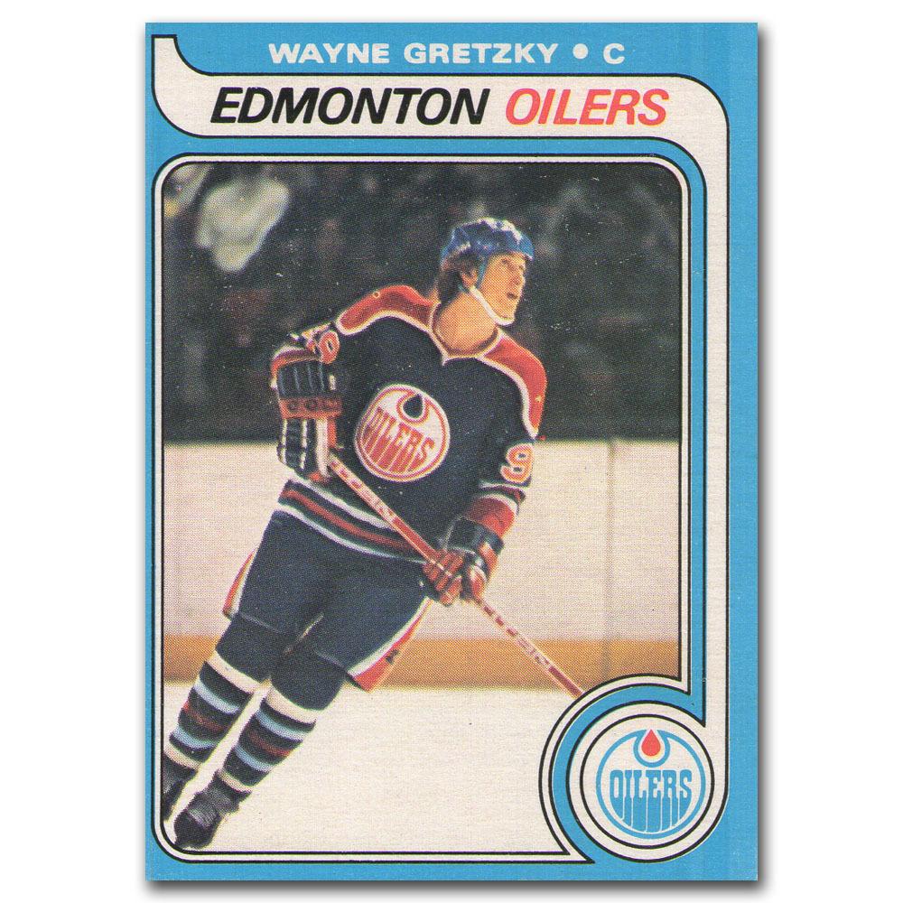 Wayne Gretzky Edmonton Oilers 1979 O-PEE-CHEE Rookie Card