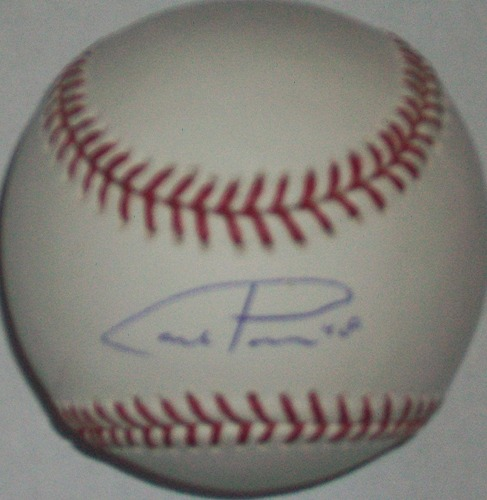 Photo of Carl Pavano Autographed Baseball