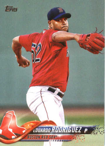 Photo of 2018 Topps #43 Eduardo Rodriguez